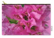 Pink Flower Composition Carry-all Pouch