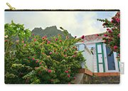Pink Flower Explosion Carry-all Pouch