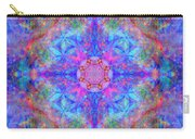 Pink Flower Of Life Mandala Carry-all Pouch