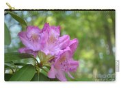 Pink Flowering Rhododendron Bush In Full Bloom Carry-all Pouch