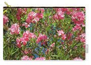 Pink Flowering Shrub Carry-all Pouch