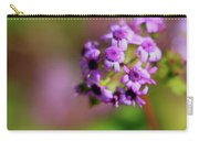 Pink Flowers . 40d4800 Carry-all Pouch