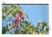 Pink Flowers At Coba Carry-all Pouch