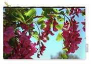 Pink Flowers Virginia City Nv Carry-all Pouch