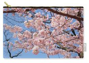 Pink Fluffy Branches Carry-all Pouch