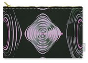 Pink Flower Scapeships Carry-all Pouch