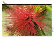 Pink Fringe Carry-all Pouch