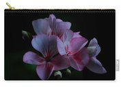 Pink Geranium Carry-all Pouch