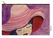 Pink Hat Carry-all Pouch