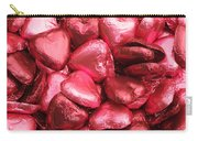 Pink Heart Chocolates I Carry-all Pouch