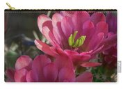 Pink Hedgehog Flowers  Carry-all Pouch