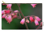 Pink Heuchera Flower 1 Carry-all Pouch