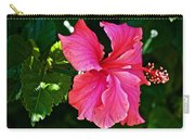 Pink Hibiscus At Pilgrim Place In Claremont-california- Carry-all Pouch