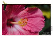 Pink Hibiscus Close-up Carry-all Pouch