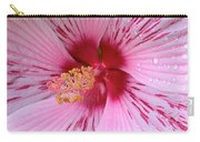 Pink Hibiscus Macro Carry-all Pouch