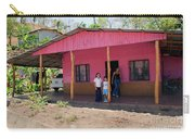 Pink House In Costa Rica Carry-all Pouch