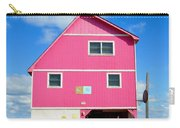 Pink House On The Beach 3 Carry-all Pouch