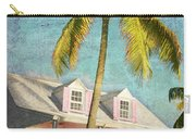 Pink House Palm Carry-all Pouch