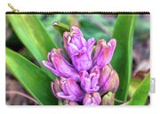 Pink Hyacinth Buds Carry-all Pouch