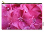 Pink Hydrangea After Rain Carry-all Pouch