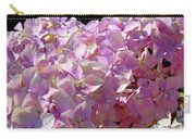 Pink Hydrangea Flower Floral Art Prints Baslee Troutman Carry-all Pouch