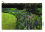 Pink In The Lupine Margin Carry-all Pouch