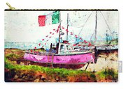 Pink Irish Boat Carry-all Pouch