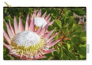 Pink King Protea Flowers Carry-all Pouch