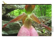 Pink Lady Slipper Carry-all Pouch