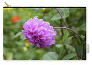 Pink Lavender Dahlia Carry-all Pouch