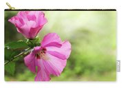 Pink Light Rose Of Sharon 2016 Carry-all Pouch