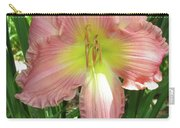 Pink Lily Carry-all Pouch