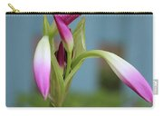 Pink Lily Bud Carry-all Pouch