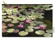 Pink Lily Pads Carry-all Pouch