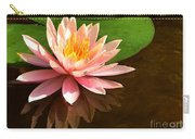 Pink Lily Reflection 4 Carry-all Pouch