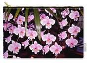 Pink Little Orchids Carry-all Pouch