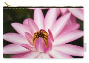 Pink Lotus Blossoms Carry-all Pouch