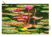 Pink Lotus Flower 2 Carry-all Pouch