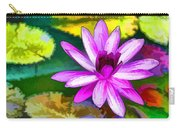 Pink Lotus Gallery  Carry-all Pouch