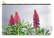 Pink Lupins Carry-all Pouch