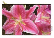 Pink Carry-all Pouch by M Montoya Alicea