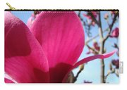 Pink Magnolia Flowers Magnolia Tree Spring Art Carry-all Pouch
