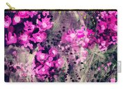 Pink Majestic Garden- Art By Linda Woods Carry-all Pouch