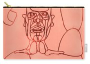 Pink Man Carry-all Pouch