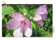 Pink Marsh Mallow Wildflower Carry-all Pouch