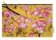 Pink Mimosa Tree Dark Yellow 201642 Carry-all Pouch