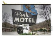 Pink Motel Sign Maggie Valley North Carolina Carry-all Pouch
