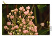 Pink Mountain Laurel Buds Carry-all Pouch