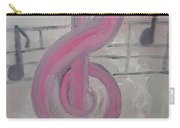 Pink Music Carry-all Pouch