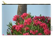 Pink Oleander Carry-all Pouch